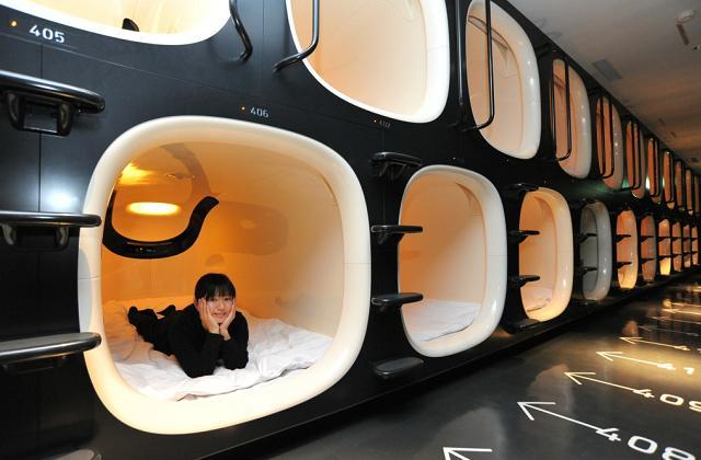Les hôtels capsules, une nouvelle tendance pour séjourner au Japon